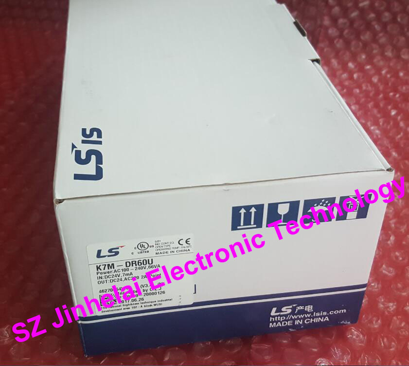 100% New and original  K7M-DR60U  LS(LG)  PLC Controller 100% new and original g6i d22a ls lg plc input module