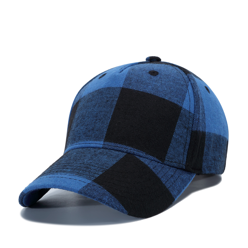 02b3117a TOHUIYAN Men Women Plaid Cotton Baseball Cap Casual Strapback Golf Hat  Summer Autumn Adjustable Snapback Caps Casquette Sun Hats-in Baseball Caps  from ...