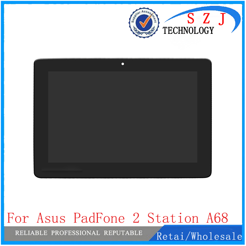 New 10.1 inch For ASUS PadFone 2 A68 Station 5273N FPC-1 Replacement LCD Display Touch Screen Assembly Free Shipping infant winter warm knit crochet caps baby beanie hat toddler kid faux fur pom pom knit skullies ski cap 0 3 years