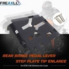 цены Motorcycle Rear Brake Pedal Lever Step Plate Tip Enlarge For KTM 990 Adventure 2006-2013 990 Adventure R 2006-2013 990 SMR 2007