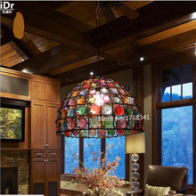 Creative bedroom European style garden antique lamp bar bar restaurant entrance lamps Pendant Lights Rmy 0651