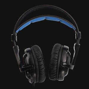 Image 5 - SADES Locust Plus หูฟัง 7.1 ชุดหูฟังเสียงรอบทิศทาง Elastic Suspension แถบคาดศีรษะหูฟัง RGB LED Light สำหรับ PC/LAPTOP