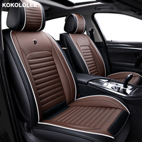 [kokololee] car seat cover For opel astra j k insignia vectra b meriva vectra c mokka zafira accessories covers for vehicle seat