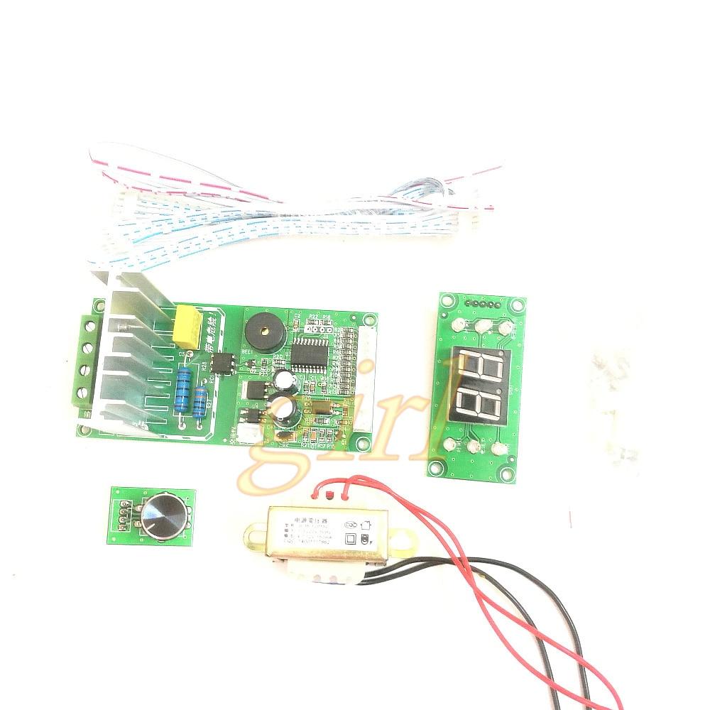 Sincere Ny-d04 Diy Spot Welding Machine Transformer Controller Control Panel Board Adjust Time Current Digital Display Buzzer Led Pulse Consumer Electronics