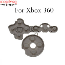 TingDong 5set Substitute Conductive Rubber Contact Silicon Pad Button D-Pad for Microsoft Xbox 360 wi-fi Controller restore P