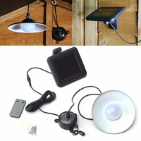 Remote Controlled Vintage Solar Powered Lamp Outdoor Garden Solar Light Patio Decking Hanging Garage Shed String