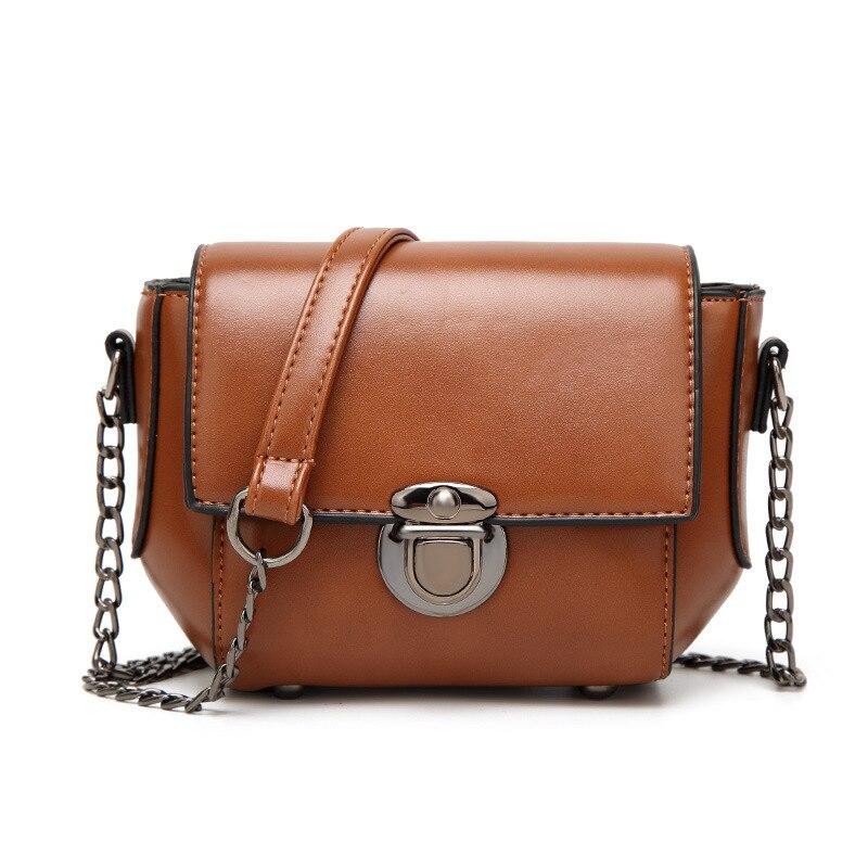 Womens Bags Crossbody Bags for Women 2018 Female 13x19cm Shoulder Bag Women Messenger Bags PU Leather Bolsa Feminina DALFR