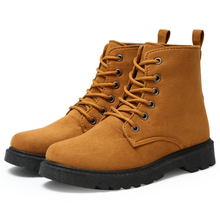 2016 Warm thick plush snow boots thick crust for women ankle winter boots fashion red black Outdoor Casual Timber Botas Hombre