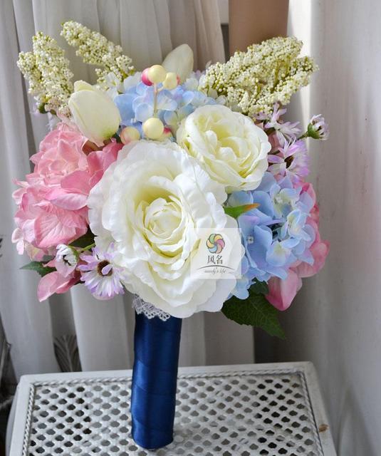 Fiori Matrimonio Rustico : Handmade fiore artificiale fiore matrimonio sposa azienda fiori d