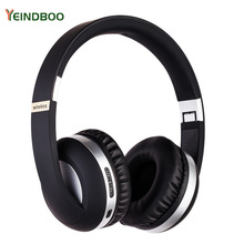 цена на YEINDBOO Noise Cancelling Headphones Wireless Bluetooth Headset With Microphone For Phones And Music