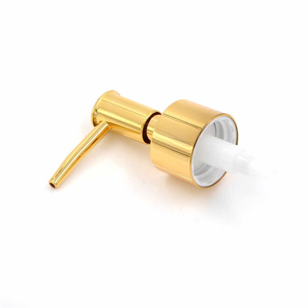 Praktyczne i dobrej jakości 1 Pc plastikowe pompka do mydła w płynie balsam wymiana dozownika żelu słoik rura narzędzie złoto srebro