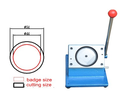 44mm badge making circle cutter round shape paper cutting machine все цены