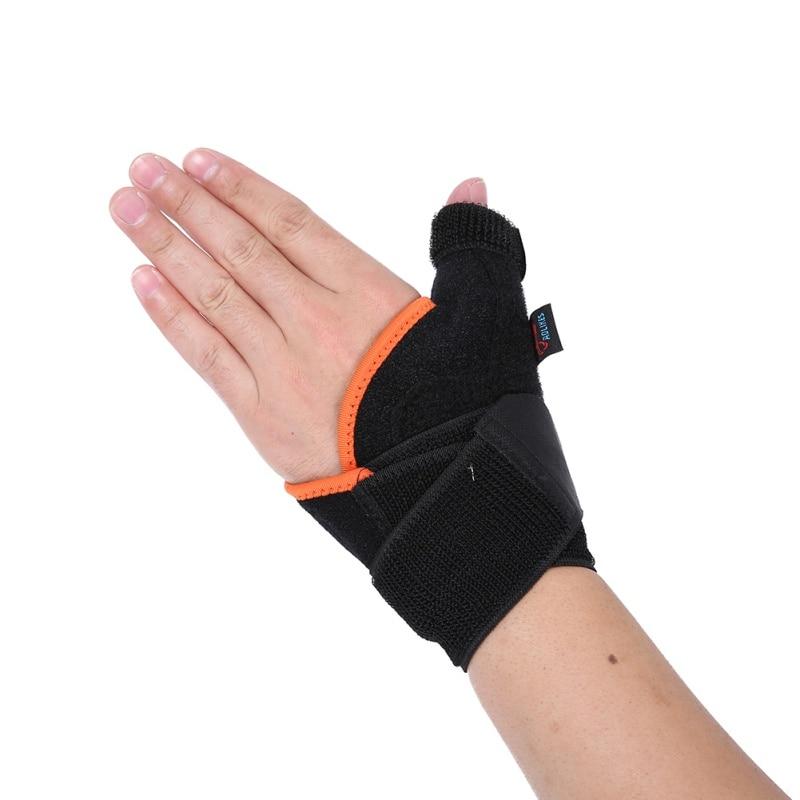 Adjustable Sports Wrist Thumb Support Straps Wraps Bandage Anti Spraine Wrist Protector Left/ Right Hand Stabiliser все цены