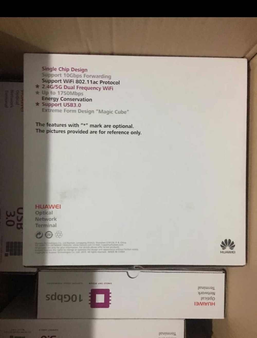 HUAWEI HG8245Q 2 POTS + 4GE + 2.4G/5G Wi-Fi + 2USB GPON ONT