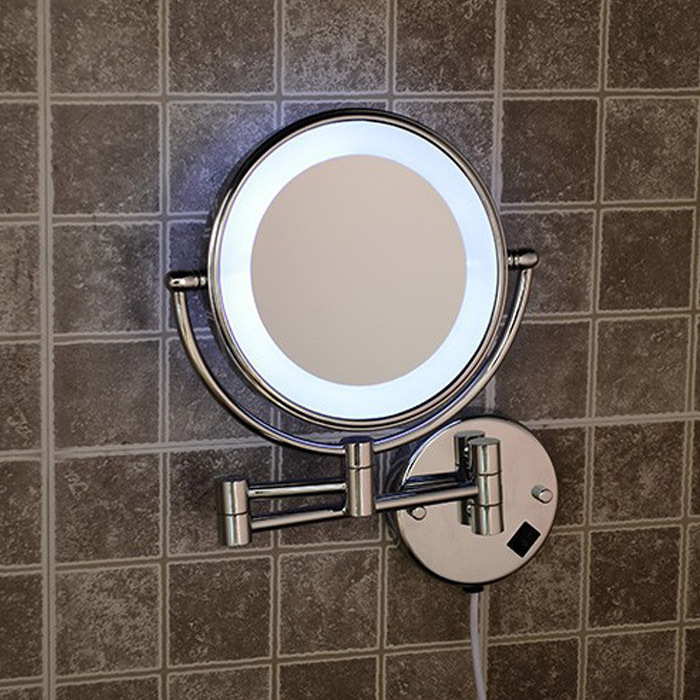 Bathroom Mirrors Extendable Magnifying led bathroom light picture - more detailed picture about wall