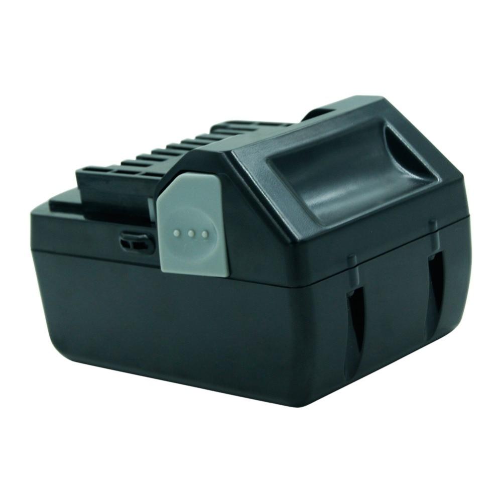 Batterie rechargeable Li-ion LERRONX 18V 4.0Ah pour outil électrique Hitachi BSL1830 BSL1840 DS18DSAL 330067 batterie au Lithium de remplacement - 4