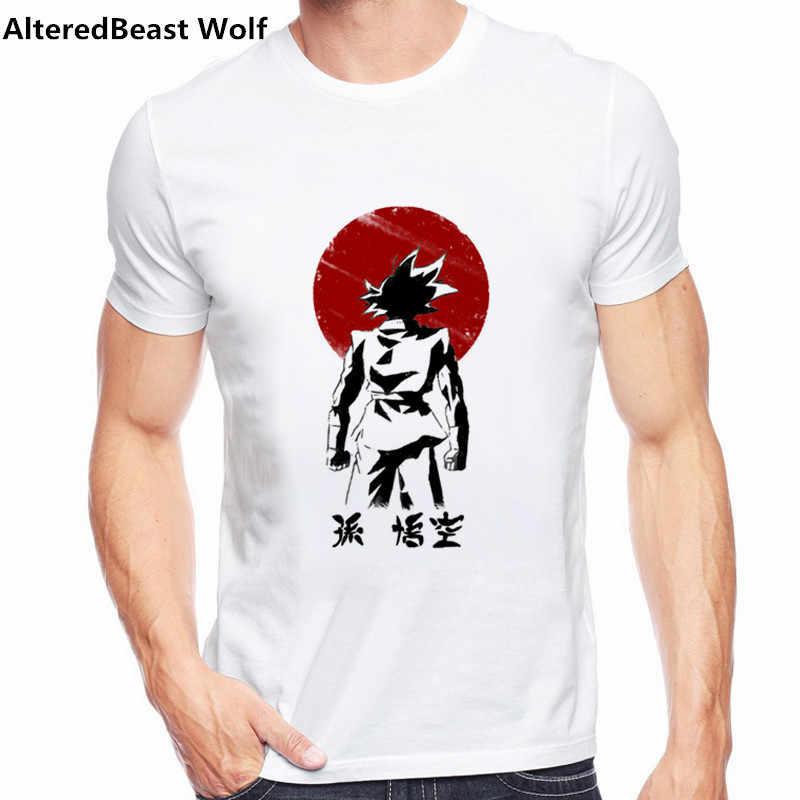 2017 Dragon Ball Супер Saiyan футболка Аниме DragonBall Z 3D Вегета комиксов Футболка мужская Гоку костюм футболки Одежда с героями мультфильмов