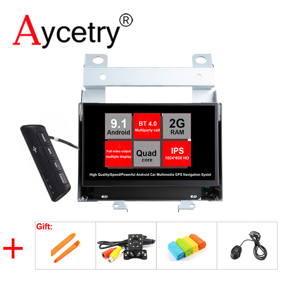 Aycetry IPS 2 din Android 9 1 Car multimedia dvd player GPS vedio For Land Rover