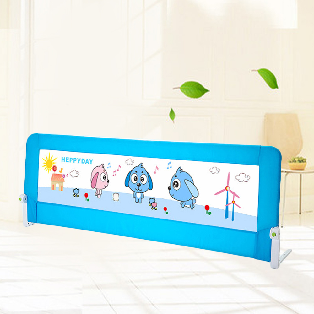 Fencing For Children 15 Meters Baby Safety Bed Guard With The Button Child Fence Rails Guardrail