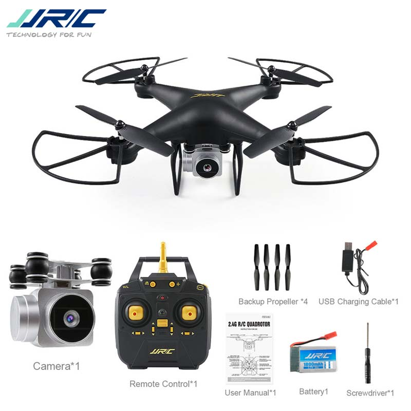 JJRC H68 Baromètre WiFi FPV 2MP 720 p HD Caméra 20 minutes de Temps de Vol RC Drone Quadcopter RTF Mode 2 VS Bayangtoys X21 X16