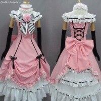 Kuroshitsuji Black Butler Ciel Phantomhive Cosplay Costumes Women girls Halloween dress party clothing Custom made Uniform