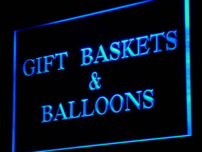 i860 Gift Baskets & Balloons Party Decor Neon Light Sign On/Off Swtich 20+ Colors 5 Sizes