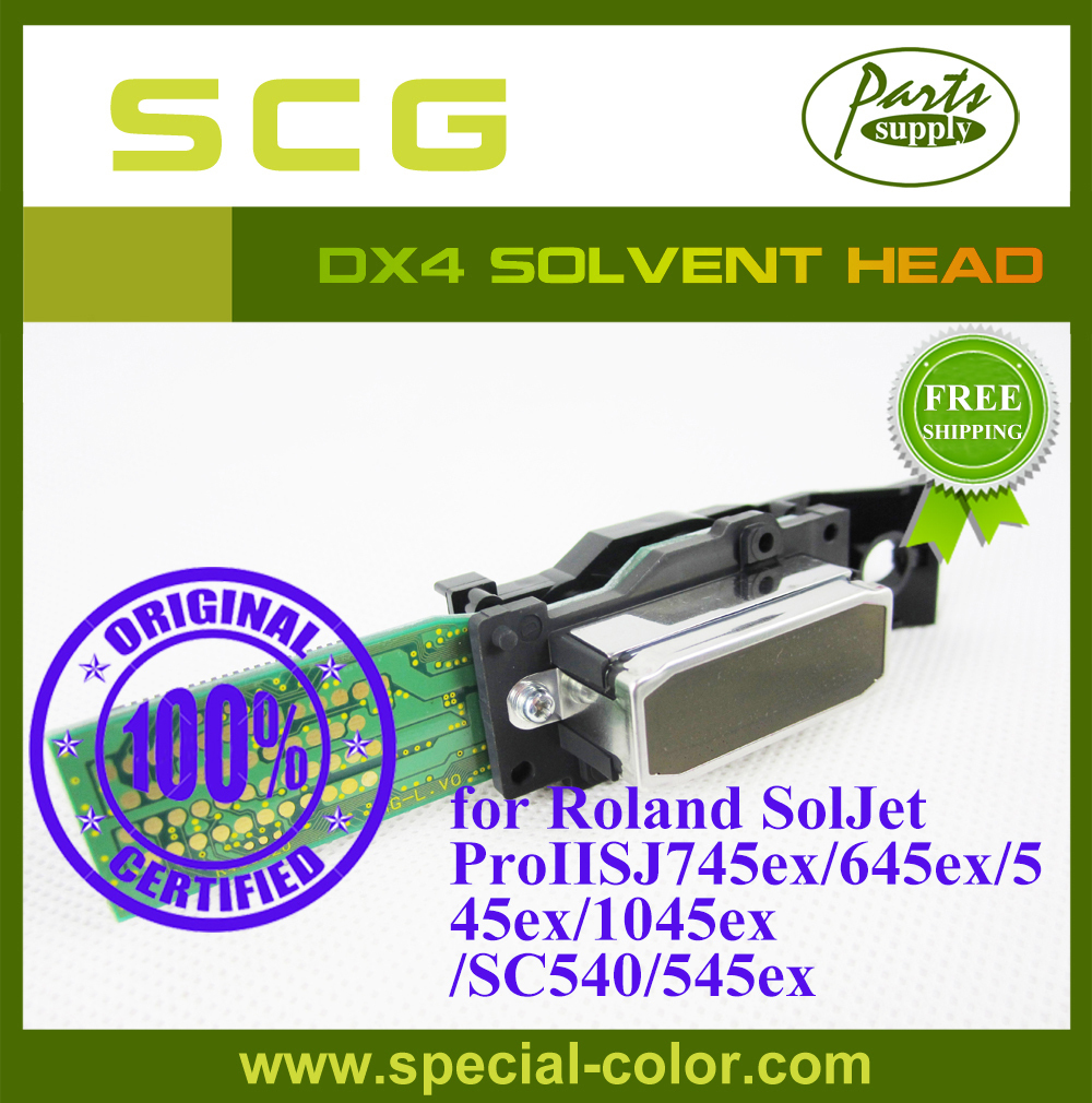 Fedex Free! DX4 Solvent Printhead Roland SJ745ex/645ex/545ex/1045ex/SC540/545ex Print head Origin from Japan