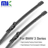 Mikkuppa frente limpiaparabrisas para BMW Serie 3 E36 E46 E90 E91 E92 E93 F30 F31 F34 G20 1990-2018 accesorios autos del coche