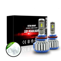 Auto Headlight Bulb Set H7 Led Tailor made High Power 70W 7000lm White 6000K Super Bright Car Head light for Ford Toyota Honda