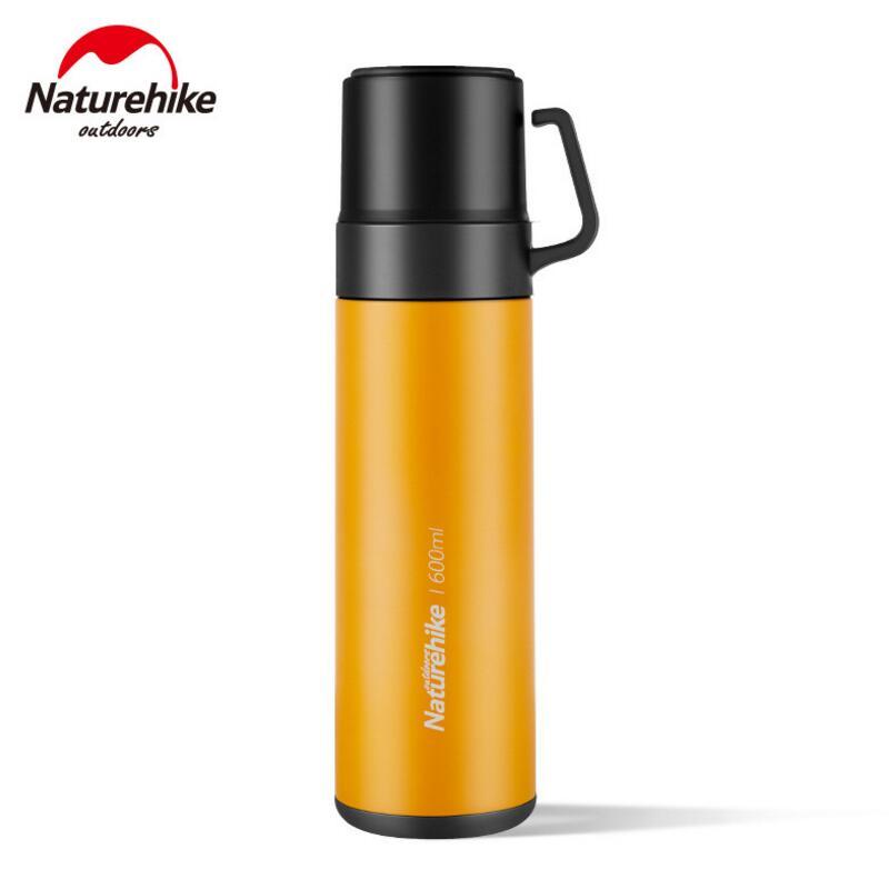 Naturehike нержавеющая сталь контейнер для воды кружка термос Кемпинг Туризм дорожная бутылочка для питья 650 мл вакуумная Изолированная посуда