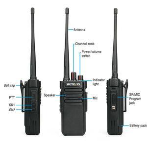 Image 4 - גבוהה כוח ווקי טוקי Retevis RT29 UHF/VHF VOX IP67 שתי דרך רדיו תחנת משדר עמיד למים עבור החווה מפעל מחסן