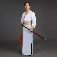 Men s Hanfu 2018 New Adult Costume Hanfu Costumes Improved Chinese Style Warrior Knights Scholars Song