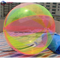 Free air pump inflatable water walking ball colorful human hamster ball adult dancing walking ball on water with promotion price