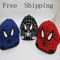2016 Fashion Kids Cartoon Snapback Baseball Caps  Children Embroidered Hats Spiderman Batman Lindo Hiphop Hat Casquette