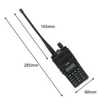 מכשיר הקשר dual band ניו Baofeng BF-A55 פלוס מכשיר הקשר Dual Band VHF / UHF 136-174 / 400-520MHz 8W לשדר כוח 128CH ציד CB Ham Radio סורק (5)