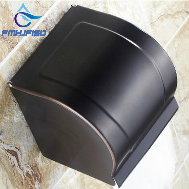 Hot Sale Wholesale And Retail Promotion Luxury Oil Rubbed Bronze Bathroom Toilet Paper Holder Tissue Box Wall Mounted oil rubbed bronze toilet paper holder wall mount tissue box