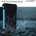 Универсальный 20000 мАч Солнечной Энергии Банк Портативный аккумулятор externe pack Зарядное Устройство чрезвычайных зарядное солнечных батарей резервного Питания Для USB Устройств