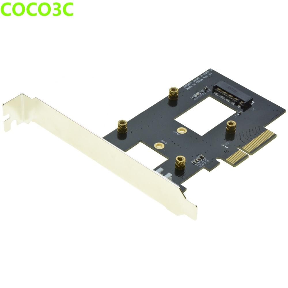 PCI-e 4x naar M-toets NGFF SSD Adapter voor SAMSUNG 950 PRO XP941 - Computer componenten - Foto 2