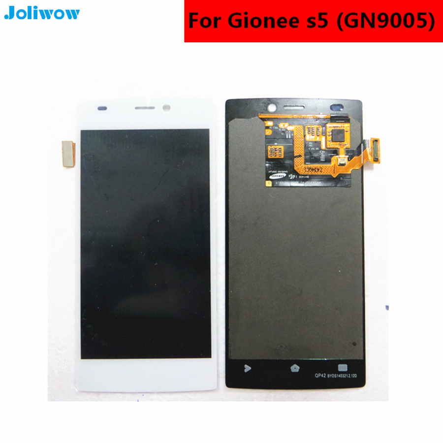 For Gionee S5 GN9005 LCD Display Touch Screen Tools Digitizer Assembly Replacement Accessories For Phone in Mobile Phone LCD Screens from Cellphones Telecommunications
