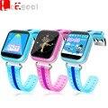 Gps smart watch q750 bebê crianças relógio com wi-fi 1.54 polegada Chamada SOS Dispositivo de Localização Tracker para Kid Safe Nano Cartão Sim