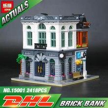 2016 Nova Banco LEPIN 15001 Tijolo Model Building Kits Kits de Brinquedos de Blocos de Tijolos Compatível Com 10251
