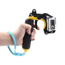 Float obturador estabilizador seção pistola gatilho conjunto flutuante alça para gopro hero 7/6/5/4/3 +/2/1 xiaomi yi câmera