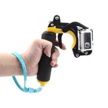تعويم مصراع استقرار قسم مسدس الزناد مجموعة العائمة مقبض ل GoPro بطل 7/6/5/4/3/3 +/2/1 شاومي يي كاميرا