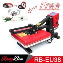 38x38CM High Pressure Heat Press Machine T-shirt Printing Machine Sublimation Printer Phone Case Puzzle Mouse Pad Glass Rock
