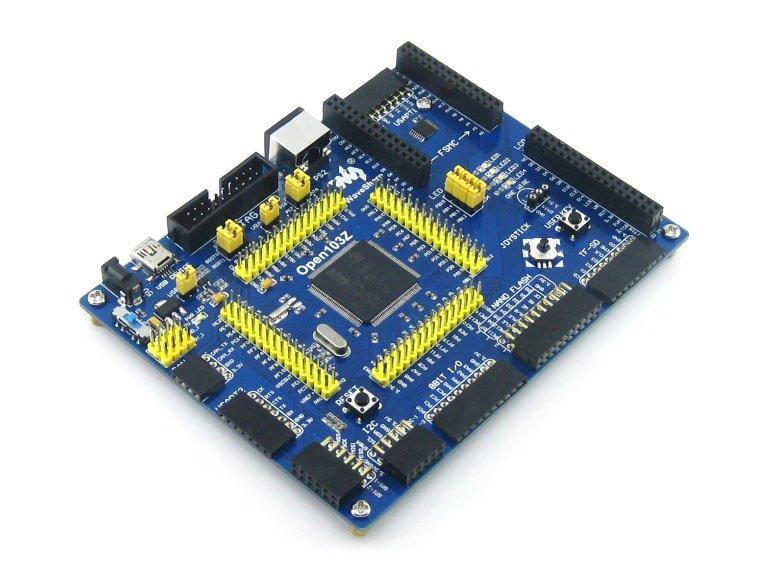 US $29 13 6% OFF|STM32F103 Development Board STM32F103ZET6 STM32 Board ARM  Cortex M3 + PL2303 USB UART Module Kit # Open103Z Standard-in Demo Board