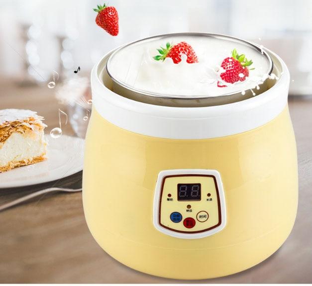 yogurt machine automatic microcomputer intelligent glass splitter natto machine electrical appliances 1.2L household