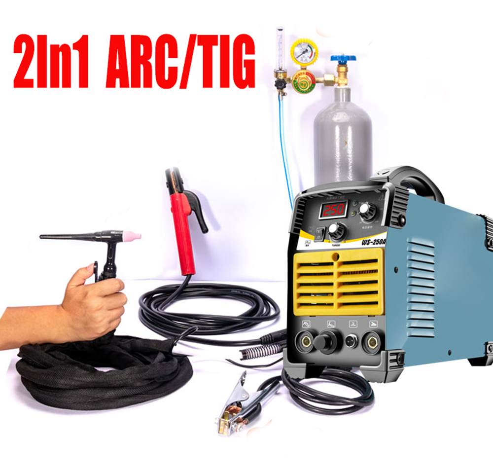 Arc Welder Inverter welding machine <font><b>tig</b></font> dc inverter mma welding machine <font><b>Tig</b></font> Welding New Portable Machine argon welder WS-<font><b>250</b></font> image