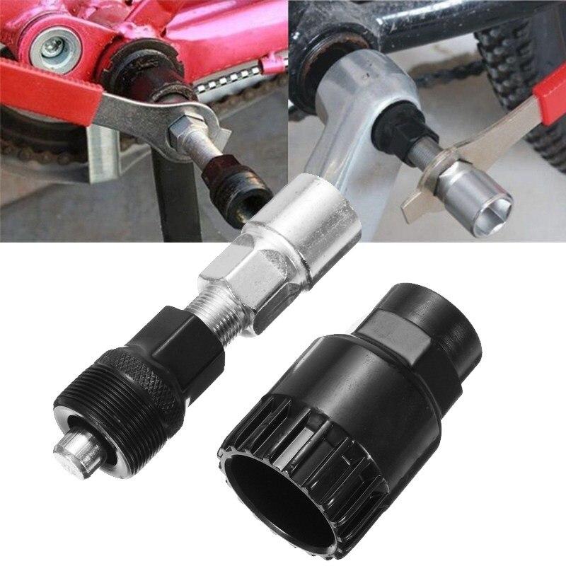Professionnel Vélo Bicyle Manivelle Extracteur Pédalier Remover Outil de Suppression De Réparation Outils Set