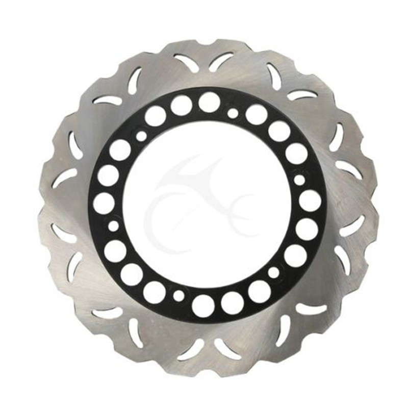 Chrome Motorcycle Rear Brake Disc Rotor For 1984-1991 Yamaha XJ600 XJ 600 1987-1991 1988 1989 1990 FZ750 FZ 750 rear brake disc rotor for yamaha fz400 srx400 xjr400 fz600 fzr600 fzs600 srx600 xj600 yzf600 yzf750r tdm850 tdm900 yzf1000