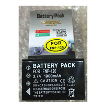 NP-120 Digital Camera Battery NP120 lithium batteries pack For Fujifilm FinePix F10 F11 Zoom M603 MX4 603